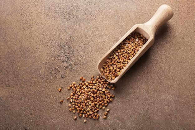 Paletta per rinfusa con grano saraceno