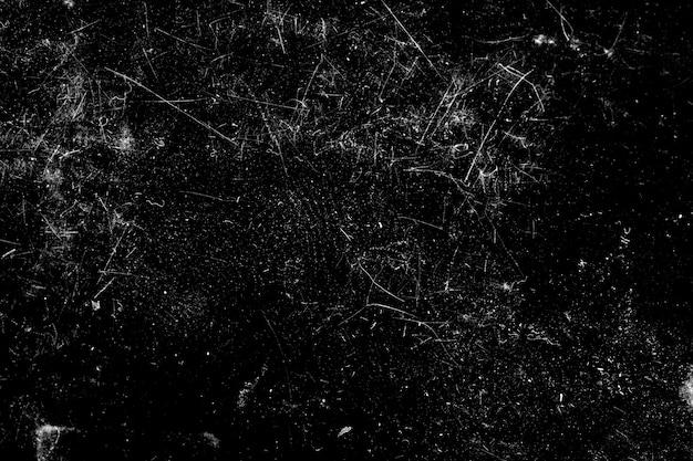 Graffi isolati su sfondo nero. modello per il design