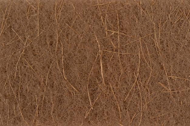 Scrubbing naturale a base vegetale spugna materiali riciclati ecologia concetto di protezione ambientale