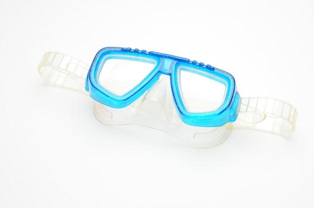 Occhiali di protezione della maschera da sub con tubo di respirazione isolato