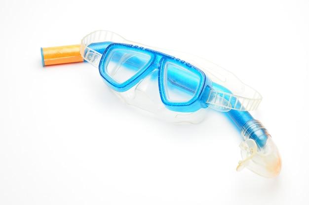 Occhiali maschera da sub con tubo di respirazione isolatoxa