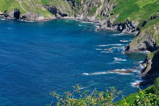 Paesaggio del mare in cantabria, spagna