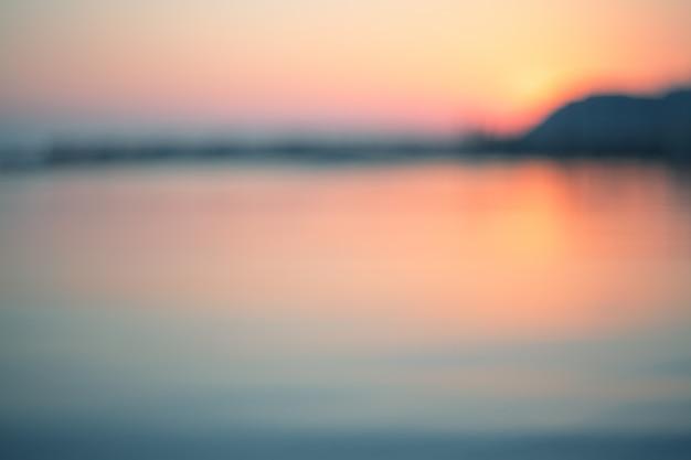 Sfondo tramonto sul mare