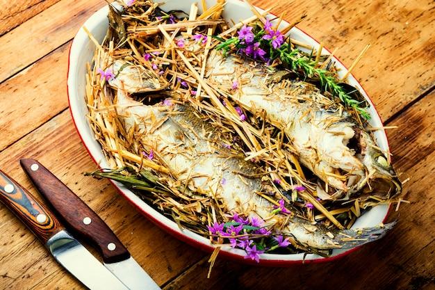 Pesce branzino al forno