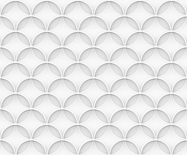 Fondo astratto della parete del modello del cerchio della sovrapposizione astratta senza cuciture