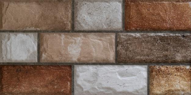 Seamless bugnato vecchio muro di pietra texture di sfondo