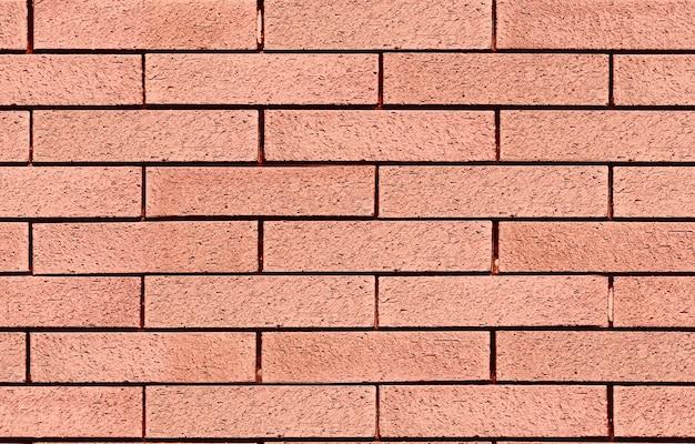 Muro di mattoni senza soluzione di continuità muro di blocchi di pietra per la progettazione grafica struttura e sfondo della costruzione del modello 3d.