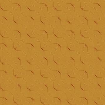 Fondo giallo del modello geometrico dell'occhio senza cuciture