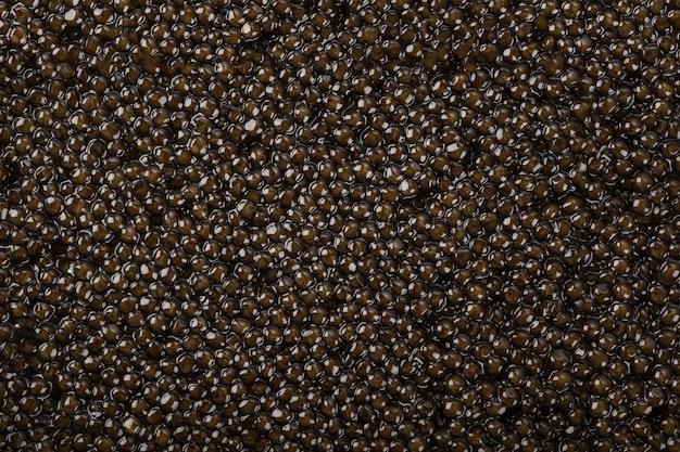 Caviale senza cuciture. seamless texture di caviale nero. superficie