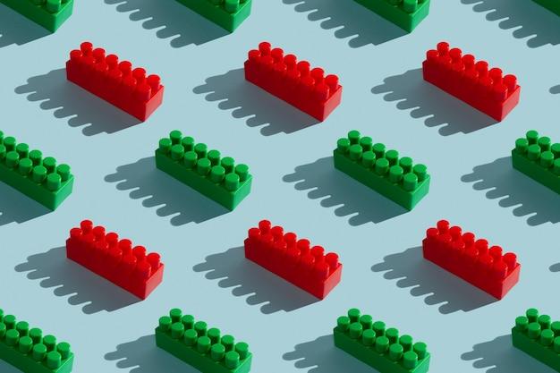 Modello senza giunture di blocchi di costruzione del giocattolo