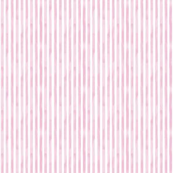 Modello senza cuciture con strisce rosa. fondo rosa e bianco disegnato a mano dell'acquerello. carta da parati, involucro, tessile, tessuto