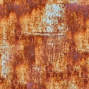 Trama senza soluzione di continuità. vecchia struttura del metallo con ruggine. modello per il design