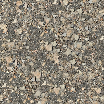 Seamless texture di terreno pietroso.