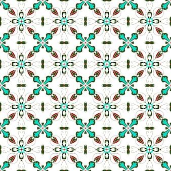 Motivo a mosaico tradizionale senza soluzione di continuità per lo sfondo