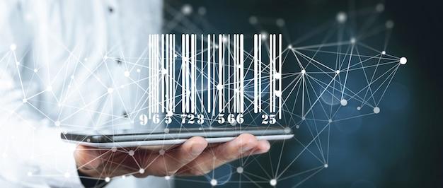 Cerca informazioni codice prodotto. codice a barre sullo smartphone