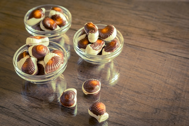 Cioccolatini conchiglie