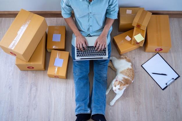 Il venditore vende online