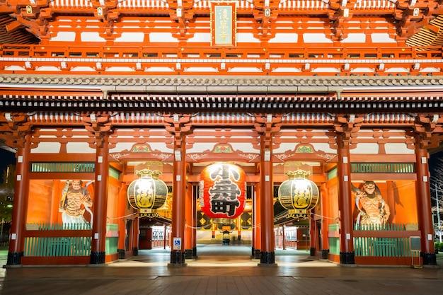 Tempio di sensoji tokyo