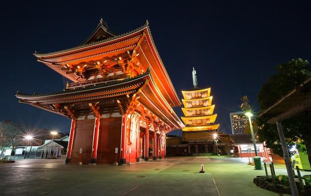 Tempio sensoji a tokyo