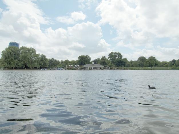 Lago serpentine, londra