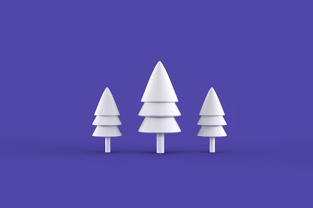Set di alberi di rendering astratti