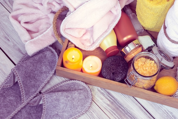Set di accessori da bagno per spa