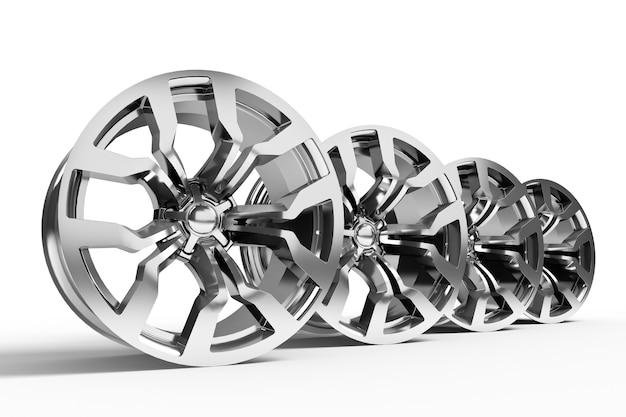 Set di pneumatici per auto