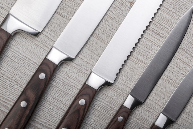 Set di coltelli da cucina di alta qualità