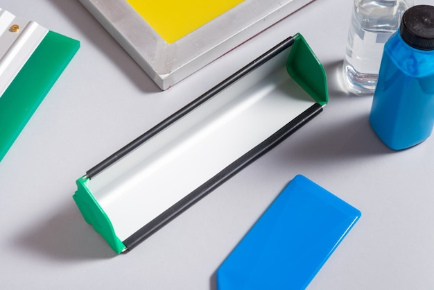 Set di strumenti per la serigrafia, kit Foto Premium