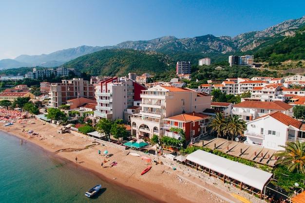 Insediamento rafailovici budva riviera montenegro costa di