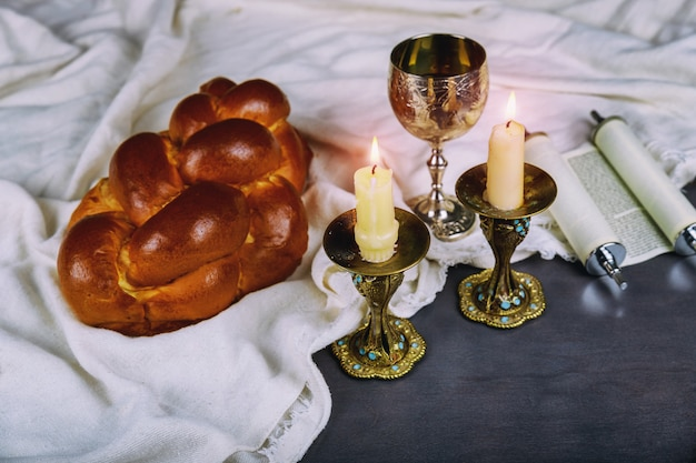 Shabbat shalom - rituale ebraico tradizionale del sabbath