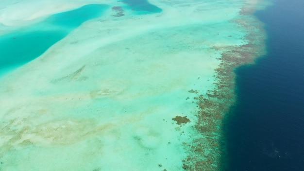 Barriera corallina acqua limpida isole estive
