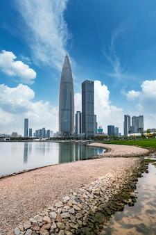 Il talento di shenzhen park city skyline