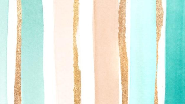 Priorità bassa del tratto di pennello acquerello verde scintillante