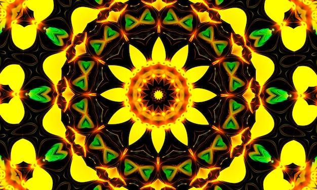 Caleidoscopio di fiori gialli brillanti. sfondo estivo. fiori. sfondo di primavera. sfondo della natura. fiori gialli.