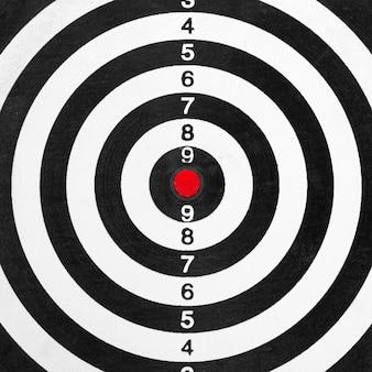 Priorità bassa dell'obiettivo del poligono di tiro