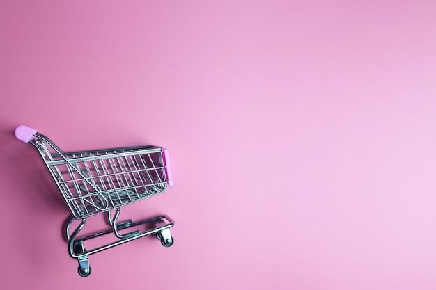 Carrello della spesa. concetto di acquisto online
