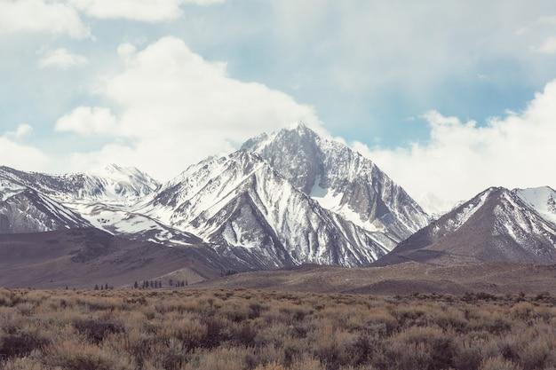Montagne della sierra nevada in california, usa