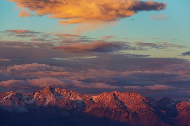 Montagne della sierra nevada