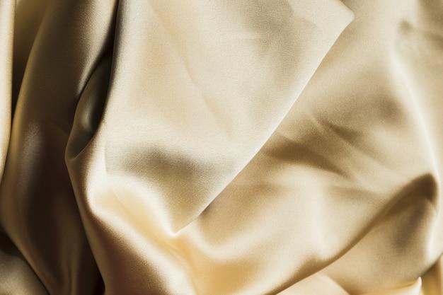 Materiale del tessuto di seta per la vista dall'alto della decorazione domestica