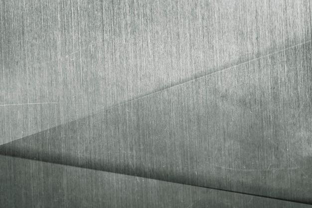 Sfondo con motivo a triangolo metallico argento
