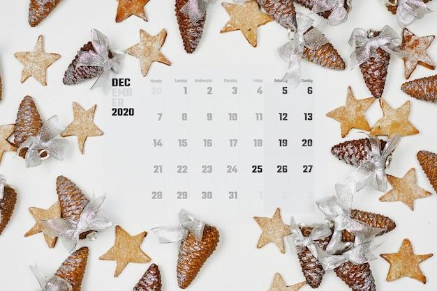 Calendario mensile semplice