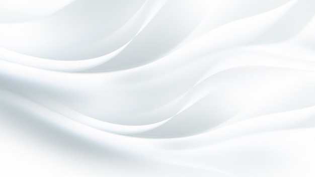 Sfondo bianco semplice con linee morbide in colori chiari