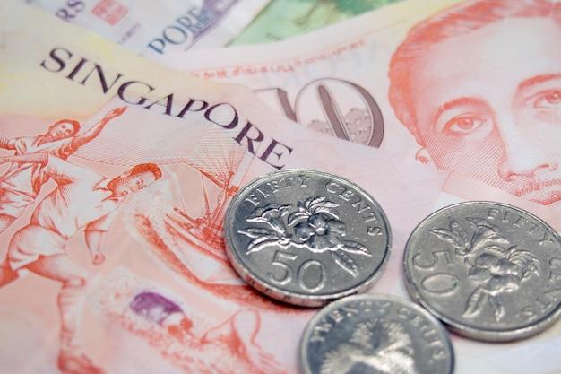 Dollari e centesimi di singapore