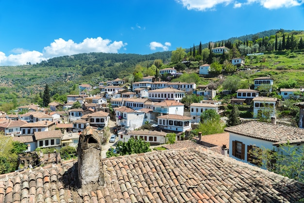 Sirince village, provincia di izmir, turchia