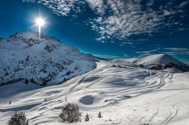 Sci di fondo sulle alpi italiane