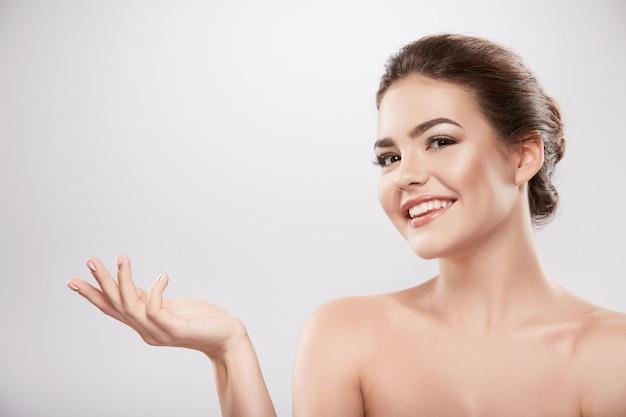 Concetto di cura della pelle