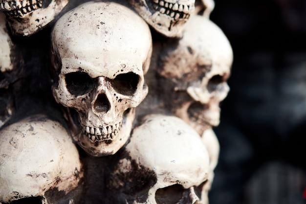 Cranio per la celebrazione di halloween
