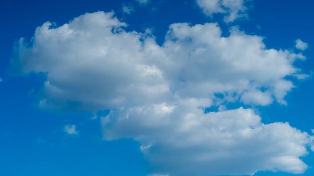 Cielo con belle nuvole meteo natura nuvola blu