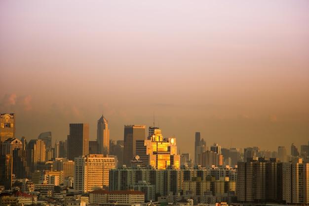 Skyline centro di bangkok